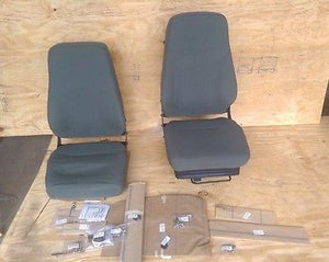 High Back SEAT KIT M998 HMMWV Humvee  GREEN Driver & Commander Seat 57K0290
