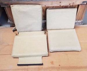HMMWV Humvee M998 2 Man TAN Seat Cushion Kit  M1097/M1038/H1 AM GENERAL Two Man