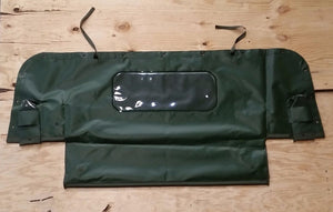 NEW HMMWV M998 4 Man Soft Top GREEN REAR CURTAIN Humvee 12340667