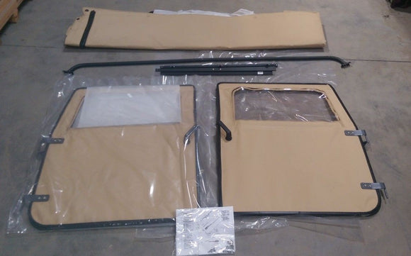 M998 HMMWV Humvee 2 MAN SOFT TOP KIT TAN 57K0156