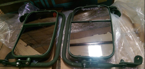 NEW HMMWV MIRROR ASSY SET, PAIR Humvee  H1 HUMMER, M998 (12342129,12342130)