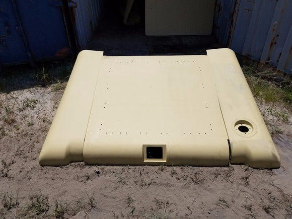 HMMWV HUMVEE M998 TAN HARD TOP Bundle Roof Panel Rear Hatch LH+RH HUMMER HARDTOP
