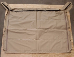 NEW HMMWV 4 Man TAN Soft Top Roof Humvee M998 12340676-11