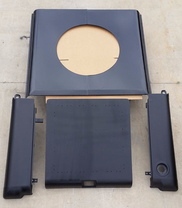 HMMWV HUMVEE M998 HARD TOP KIT Roof Panel,Rear Hatch SLANT BACK HUMMER HARDTOP
