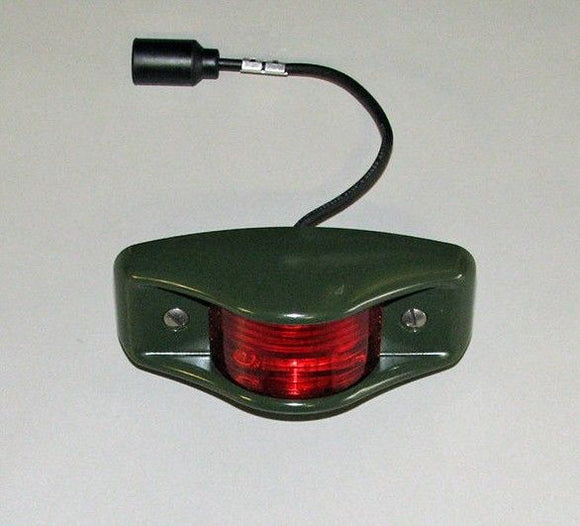 NEW LED HMMWV Side MARKER Light  RED 24V M998 12446845-2 HUMVEE Military Truck