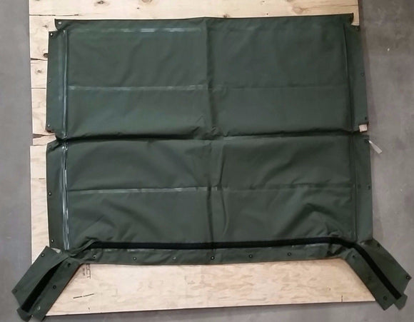 NEW HMMWV 4 Man Soft Top GREEN Roof  Humvee M998 12340676