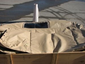M939 Series 5 Ton Soft top Cab COVER TAN Military Truck 2540-01-435-4924 M923