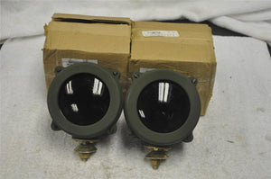 (2) Humvee INFRA RED LIGHTS  M35A2 M151 NIGHT VISION M998 11589477-2 SET INFARED