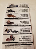 Humvee, Caterpillar Farm Construction Equipment Air Conditioning Kit AC