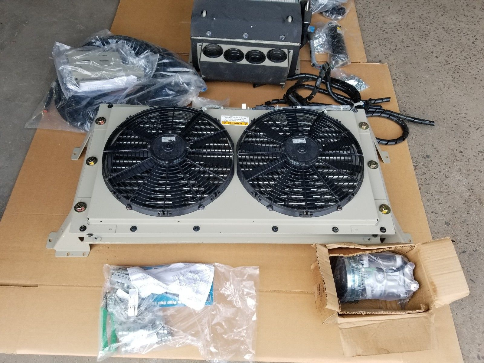 NEW RED DOT Air Conditioning Kit AC Military/Commercial