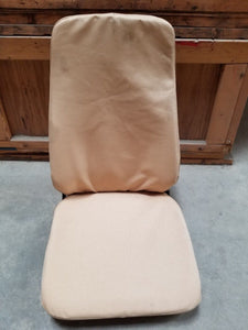 HMMWV TAN High Back SEAT M998 Humvee Seat 12446712-5
