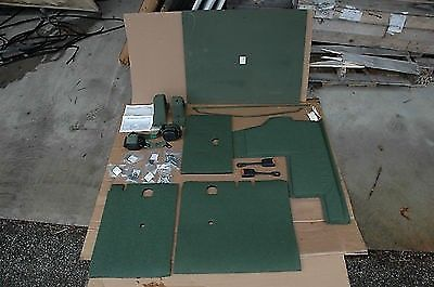 HMMWV HUMVEE H1 2 Rear Seat Belt & Insulation kit, 2510-01-410-7037, M998