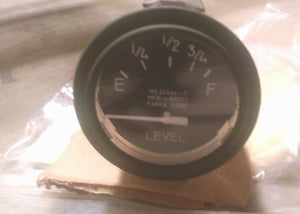 M35A2 M SERIES NEW FUEL GAUGE 24V MS24544-2, 8376487 2.5 Ton