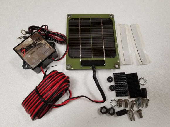 Pulse Tech Solargizer 24V mdl 735x150 Battery Maintenance system Humvee M998