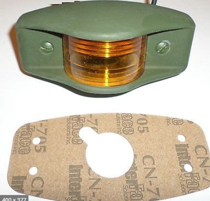 HMMWV M998 M35A2 CUCV M809 M939 5 Ton Incandescent Military AMBER SIDEMARKER LIGHT