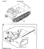 M113 Track T130 Track For APC T130 Track Shoe M113 Series, M125, M577A1, M 548A 11677988-6