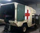 M977 Ambulance Body Rear RH Passenger Door  12341782-2 5741702