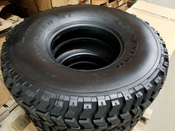 SET OF 4 NEW HUMVEE HMMWV TIRE WITH GOODYEAR M998 HUMMER H1 37X12.5X16.5 RADIAL