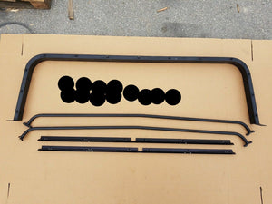 NEW HMMWV 4 Door Soft Top KIT Conversion Humvee M998 , C-Pillar, Bows, Rails