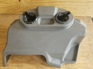 Hummer H1 Humvee Rear Console Deluxe 6011049G Rare W/ Cupholder