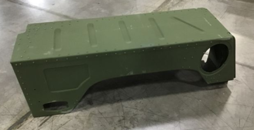 M998 HMMWV Humvee AM GENERAL RIGHT REAR FENDER 12339707-1