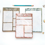 To Do List notepad - Bookish and Bakewell