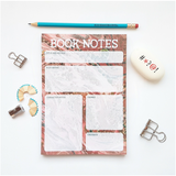 Book Notes notepad - Bookish and Bakewell