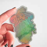 Gandalf the Gay sticker - Bookish and Bakewell