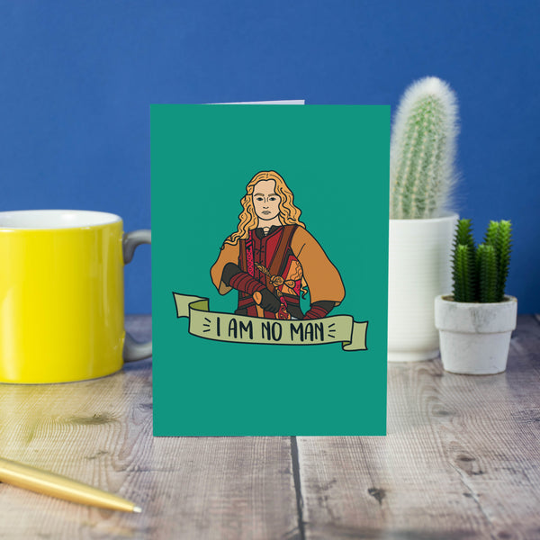 i am no man, lotr car, eowyn, LORD OF THE RINGS CARD, i am no man eowyn, i am no man lord of the rings