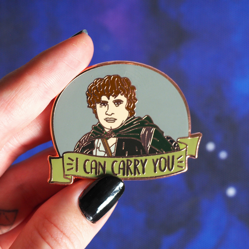 I Can Carry You enamel pin - Bookish and Bakewell