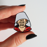 Not Your Babe - Enamel Pin - Bookish and Bakewell