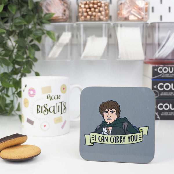 I Can Carry You coaster - Bookish and Bakewell