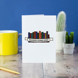 Readers Gonna Read card - Bookish and Bakewell