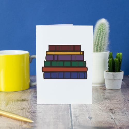 TBR Pile card - Bookish and Bakewell