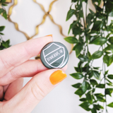 Tenacious AF button badge - Bookish and Bakewell
