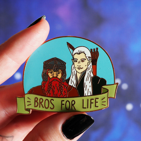 Brains and Boobies hard enamel pin and pin set