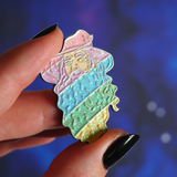 Gandalf the Gay enamel pin - Bookish and Bakewell