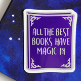 Magic sticker - Bookish and Bakewell