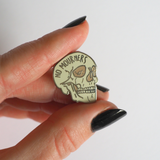 No Mourners, No Funerals enamel pin set - Bookish and Bakewell