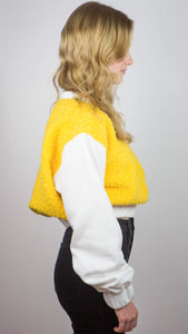 LIMITED EDITION - Scrunchy Yellow Sweatshirt