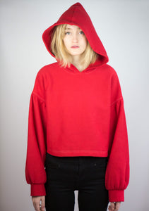 Little Red - Cropped Hoodie