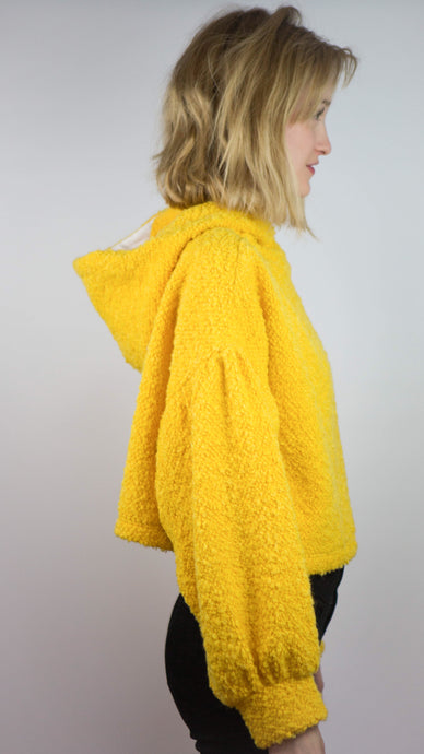 LIMITED EDITION- Fluffy Yellow Hoodie