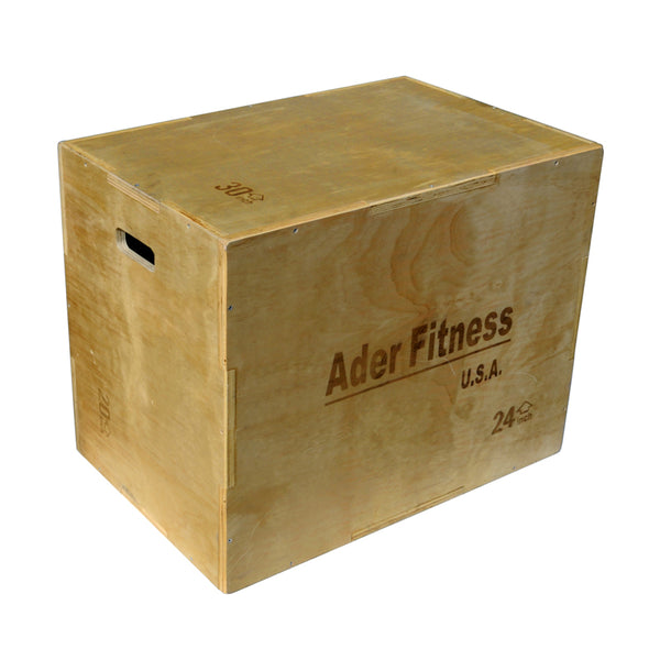 Wood Plyometric Box