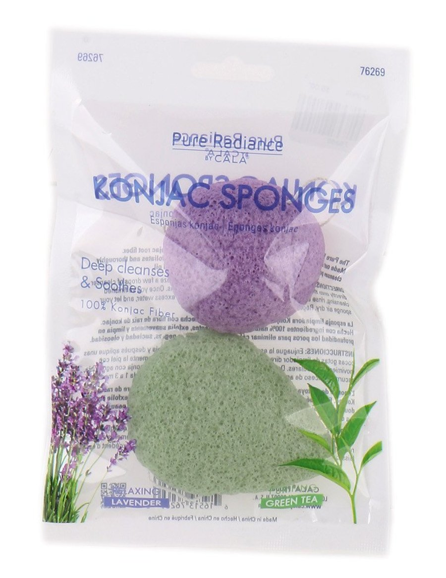 PURE RADIANCE Konjac Sponges
