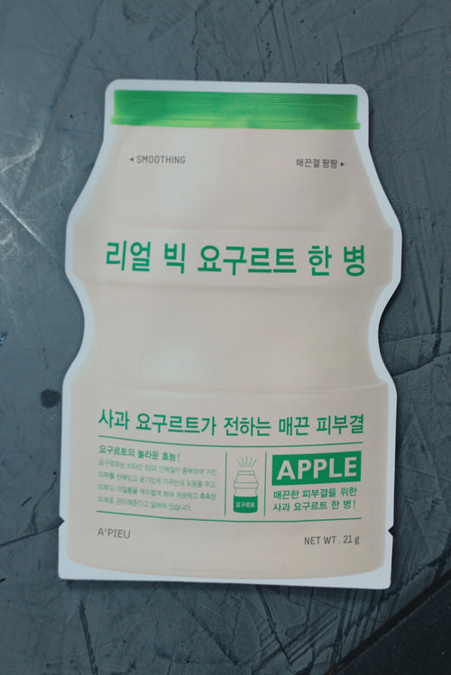A'PIEU Real Big Yogurt One-Bottle Apple Mask