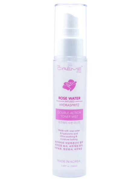 THE CREME Rose Water Double-Action Toner Mist Infused Hydraspritz