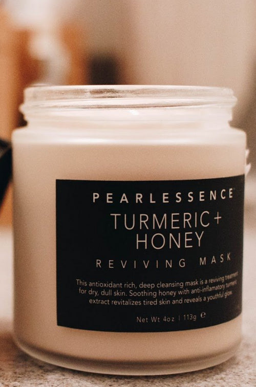 PEARLESSENCE Turmeric + Honey Mask