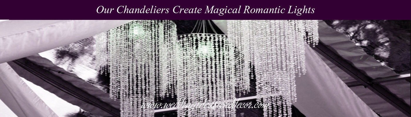 VIEW ALL Chandelier Wedding Lights
