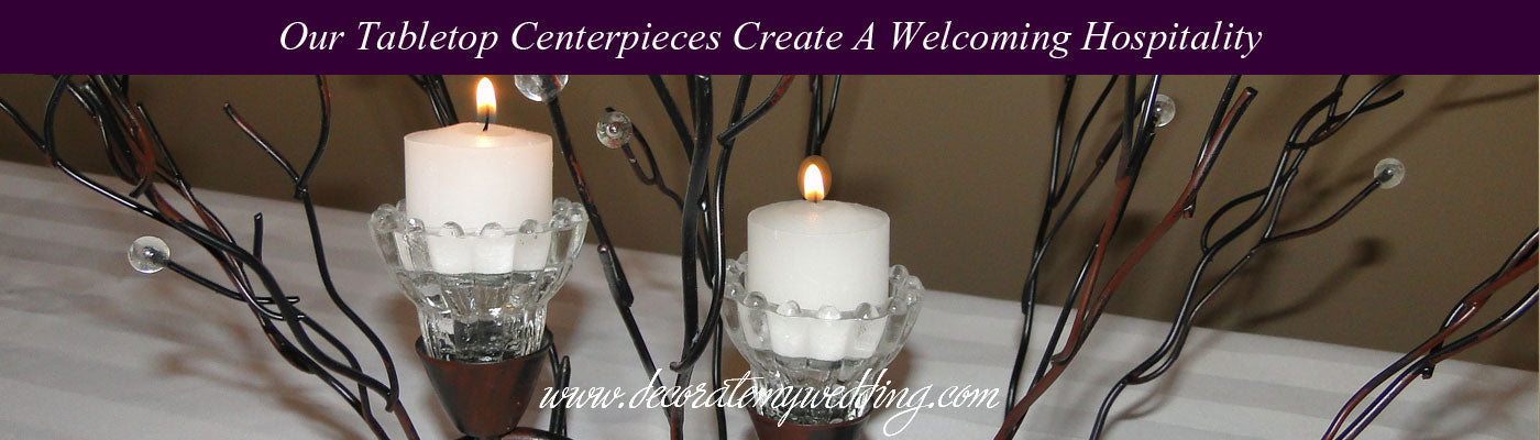 VIEW ALL Wedding Table Centerpieces
