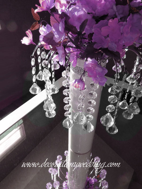 Home & Garden Acrylic Crystal Flower Stand Table Centerpiece Wedding Decoration Elegant And Graceful